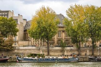 On the Seine.