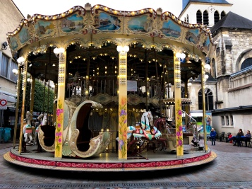 There is something mesmerizing about a carousel